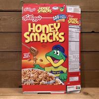 Kellogg's Honey Smacks Cereal Box/ケロッグ ハニースマックス シリアルボックス/210901−3