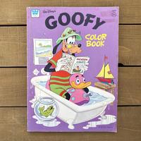 Disney Goofy Coloring Book/ディズニー グーフィー カラーリングブック/191119-4