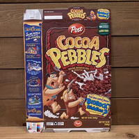THE FLINTSTONES Cocoa Pebbles Cereal Box/フリントストーンズ ココアペブルス シリアルボックス/210901−4