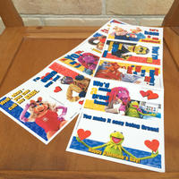 THE MUPPETS Valentine Card Set/ザ・マペッツ バレンタインカード 全種セット/170904-1