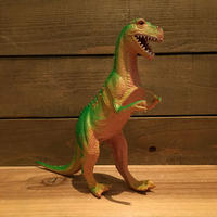 DINOSAUR Tyrannosaurus Rubber Toy/恐竜 ティラノサウルス ラバートイ/190903-4