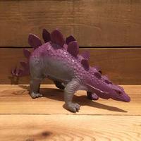 DINOSAUR Stegosaurus Rubber Toy/恐竜 ステゴサウルス ラバートイ/190903-3