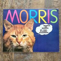 9-Lives Morris 1981 Calender/9ライブズ モリス 1981年カレンダー/210724-6
