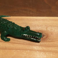 Crocodile Rubber Toy/ワニ ラバートイ/181018-14