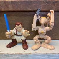 STAR WARS Anakin & Battle Droid Figure/スターウォーズ ギャラクティックヒーローズ アナキン&バトルドロイド (フォースアタック) フィギュア/210612-9