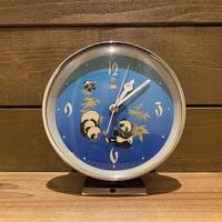 Panda Clock/パンダの置き時計/200214-1