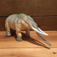 DINOSAUR Mammoth Rubber Toy/恐竜 マンモス ラバートイ/190903-5