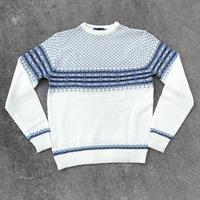 sigallo Nprdic Knit Sweater/シガロ ノルディック ニットスウェッター/191215-2