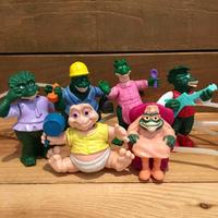 DINOSAURS Happy Meal Toy Set/恐竜家族 ハッピーミールトイ セット/190907-2