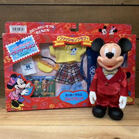 Disney Fashion Club Mickey Mouse Doll & Out Fit Set/ディズニー ミッキー・マウス ドール&衣装セット/210711-4