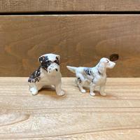 プラスチックの犬セット/200501-22
