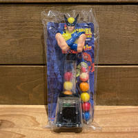 X-MEN Wolverine Gum Ball Dispenser/X-MEN ウルヴァリン ガムボールディスペンサー/191029-4