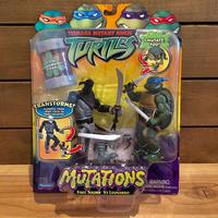 TURTLES Mutatin' Foot Soldier VS Leonardo Figure/タートルズ ミューテーション フットソルジャー VS レオナルド フィギュア/190629-6
