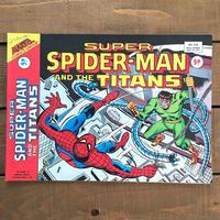 SPIDER-MAN Super Spider-man and the Titans Comics 1977.Mar.214/スパイダーマン コミック 1977年3月214号/190425-9