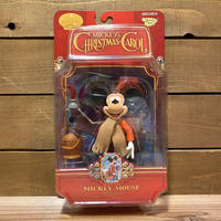 MICKEY's CHRISTMAS CAROL Mickey Mouse as Bob Cratchit Figure/クリスマスキャロル ボブ・クラチット (ミッキー)/200426-1