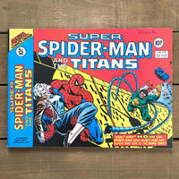 SPIDER-MAN Super Spider-man and the Titans Comics 1977.Apr.218/スパイダーマン コミック 1977年4月218号/190425-11