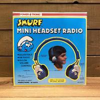 SMURF Mini Headset Radio/スマーフ ミニヘッドセットラジオ/200330-1