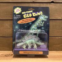 SEE-THRU GLO DINO Stegosaurus Figure/シースルーグローダイノ ステゴサウルス フィギュア/200418-9