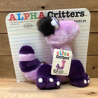 ALPHA Critters Jobo Plush Doll/アルファクリッターズ ジョボ ぬいぐるみ/211026-12