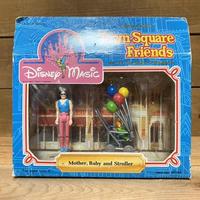 Disney Town Square Friends Figure Set/ディズニー タウンスクエア フィギュアセット/210807-13