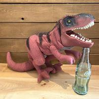 JP THE LOST WORLD T-Rex Plush Puppet/ジュラシックパーク ティラノサウルス ぬいぐるみパペット/200131-3