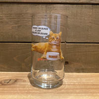 9-Lives Morris the Cat Glass/9ライブズ モリス グラス/191126-6