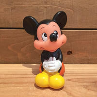 Disney Mickey Mouse Rubber Doll/ディズニー ミッキー・マウス ラバードール/190302-5