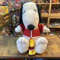 PEANUTS Snoopy & Woodstock Holiday Plush Doll/ピーナッツ スヌーピー & ウッドストック ホリデーぬいぐるみ/201011-1