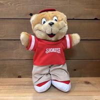 SHONEY'S Shoney Bear Plush Doll/ショーニーズ ショーニーベア ぬいぐるみ/210413−21