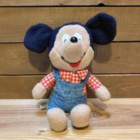 Disney Mickey Mouse Plush Doll (Small)/ディズニー ミッキー・マウス ぬいぐるみ/200426-8