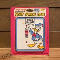 Disney Donald Duck Switch Plate/ディズニー ドナルド・ダック スイッチプレート/191125-4