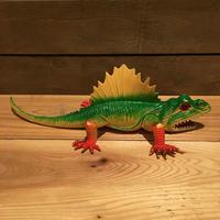 DINOSAUR Dimetrodon Rubber Toy/恐竜 ディメトロドン ラバートイ/181023-9