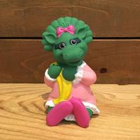 BARNEY Baby Bop Rubber Toy/バーニー ベイビー・ボップ ラバートイ/190317-8