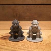 Horror Plastic Toy Wolfman Style Figure/ホラープラスチックトイ ウルフマン風 フィギュア (バラ売り)/171206-13