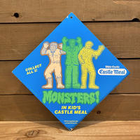 Monsters Kid's Meal Store Display Sign/モンスター キッズミール ストアディスプレイサイン/200307-1