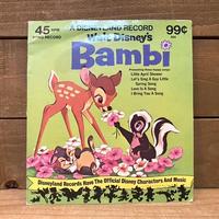 Bambi EP Record/バンビ EPレコード/210126−4