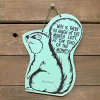 Squirrel Wall Hanging/リス 壁掛け/210616−2