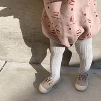 poko poko tights / タイツ /  グレー / ニット / ベビー / 秋冬