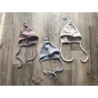 baby milk smooth bonnet / ボンネット/ ブラウン / ミントグレー / ベビー / 秋冬