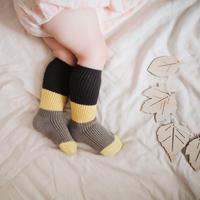 BN baby block check SOCKS  / 靴下 / ソックス / 2点セット / ベビー / 男の子 / 女の子