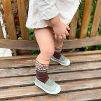 BABY RARA ETHNIC SOCKS / 靴下 / 2点セット / コットン / ベビー / 秋