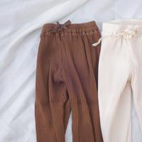 BN rib pants / リブパンツ / コットン / キッズ / 男の子 / 女の子 / 秋