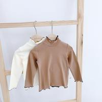 creamy  cut&sewn  / 長袖 / クリーム / ブラウン / キッズ / 秋冬