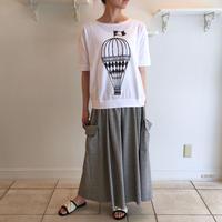 ナチュラル天竺*気球Tシャツ (81UTS007)