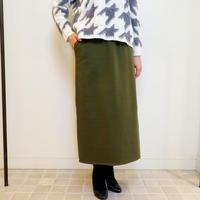コットン裏毛スカート(0DUS702)