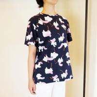 アートフラワー天竺*Tシャツ(9CUTS773)