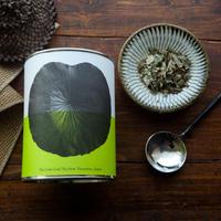 八代の日本古来のはすの葉茶/リーフ 20g 缶