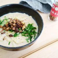 【recipe】しいたけウコン味噌担々麺 / Turmeric miso Dan-dan noodles  w/mushroom
