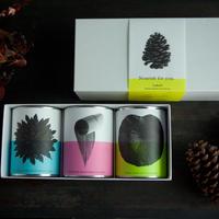 大切な人に贈る、伝統茶3缶セット「Beauty 」(カキドオシとハトムギ、はす、月桃)