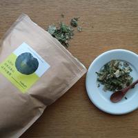 八代の日本古来のはすの葉茶(リーフ100g/大袋)